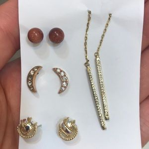 Lot of 4 Anthropologie Earrings